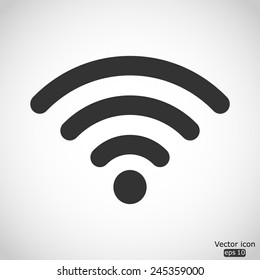 wi fi vector icon