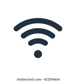 Wi Fi vector icon.