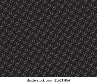 Wicker Black Carbon Background (seamless pattern)