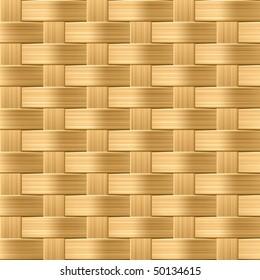 Wicker pattern. Seamless vector.