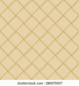 Wicker pattern texture, vector background,  Seamless geometric pattern