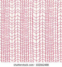 Wicker red texture. Seamless pattern