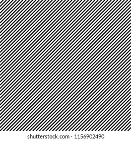 Wide black diagonal on a white background
