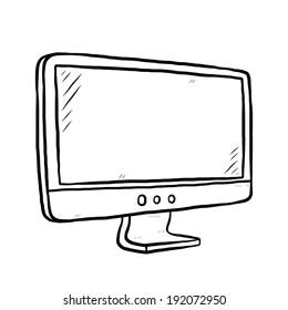 Computer Art Sketch Computer Drawing