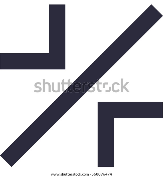 Width Vector Icon