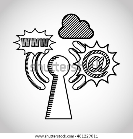 Wifi Connection Signal Icons Vector Illustration Stock Vector