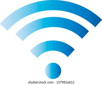 Wifi connection signal vector icon