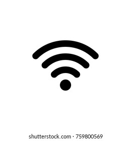 Wifi connection signal vector icon