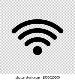 wifi icon design flat vector illustration
