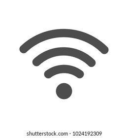 Wi-Fi Icon flat illustration