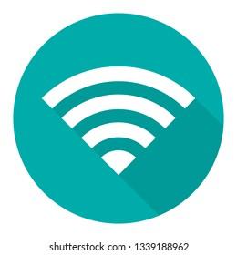 WiFi icon illustration.