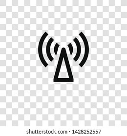 wifi icon from miscellaneous collection for mobile concept and web apps icon. Transparent outline, thin line wifi icon for website design and mobile, app development