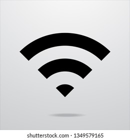 Wifi icon network sign.vector illustration.