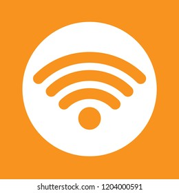 Wi-Fi icon, stock vector illustration, EPS10.