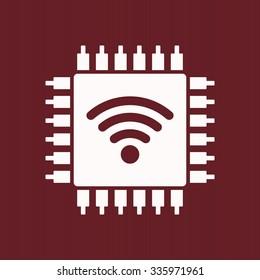 Wi-Fi Icon. vector design