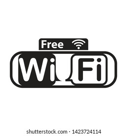 wifi icon vector design template