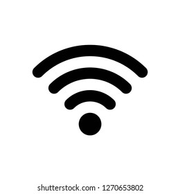 wifi icon vector, on white background editable eps10