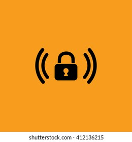 Wifi password vector icon