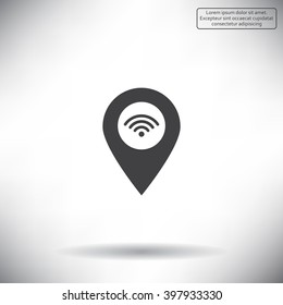 wifi pointer icon