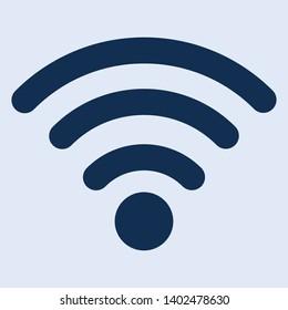 Wifi signal icon, symbol vector file