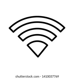 Wifi signal icon vector design template
