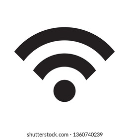 Wifi signal vector icon