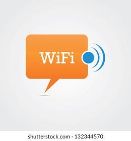 Wifi Speech Bubble