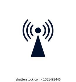 Wi-Fi wireless internet mobile and desktop connection icon graphic