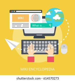Wiki Encyclopedia Conceptual Design