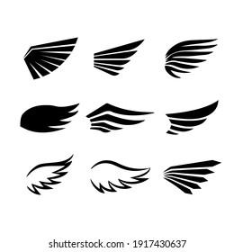 Wild Birds wings vector designs