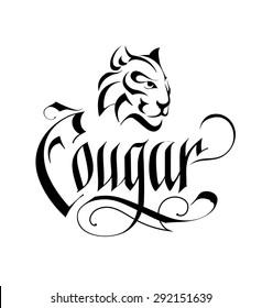 Wild Cat Head Vintage Logo