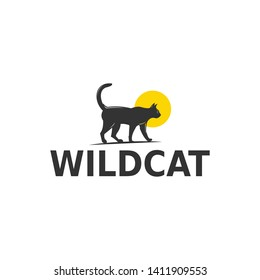 wild cat, a unique and interesting logo for you, who is looking for ogo cats for the compan