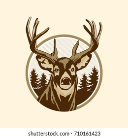 Wild Deer Ranch Logo
