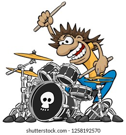 3 172 Drummer Drummer Cartoon Images Royalty Free Stock Photos On