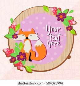 Wild Fox Background