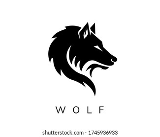 Design-Inspiration des wilden Wolfs im Gesicht