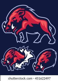 Wild Hog mascot