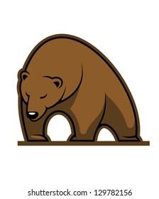 Wild kodiak bear. Jpeg version also available in gallery