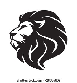 lion head images  stock photos   vectors shutterstock Black and White Vector Art of Dragons Black and White Dragon Tattoo