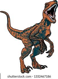 Wild Raptor Dinosaur