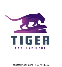 Black Tiger Logo Images Stock Photos Vectors Shutterstock