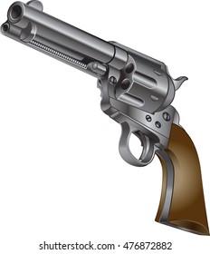 wild west colt peacemaker  revolver