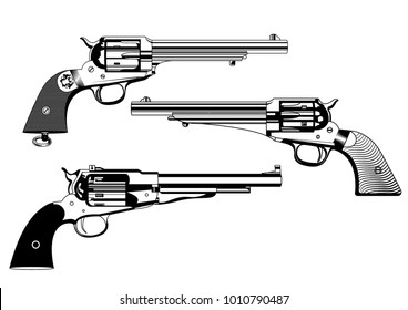 wild west revolvers
