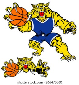 Wildcat Mascot Images Stock Photos Vectors Shutterstock