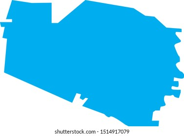 williamson County map in Tennessee state