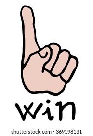 win symbol
