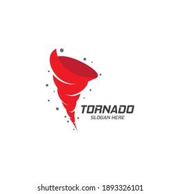 Wind tornado logo vector illustration flat design