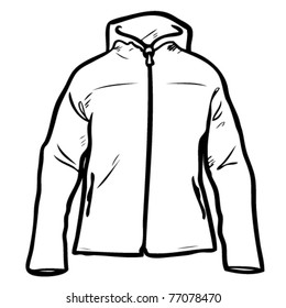 A windbreaker to color yourself and put your logo on.