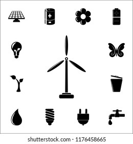 Windmill Electra Mill icon. Ecology icons universal set for web and mobile