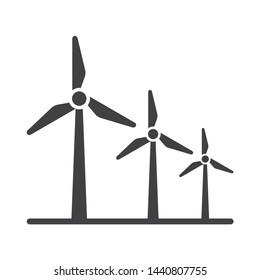 Windmill icon - Wind Turbine Icon